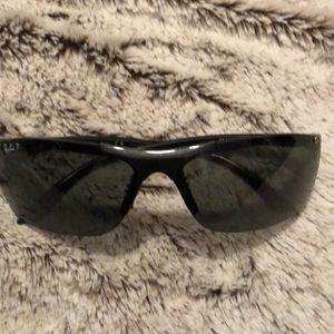 Ray Ban sporty black sunglasses